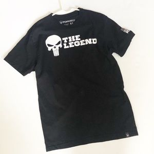 Men's Black Forged graphic Tee